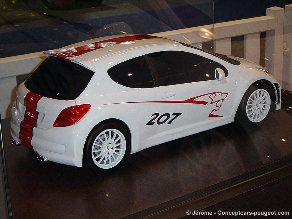 Maquette Peugeot 207 RCup