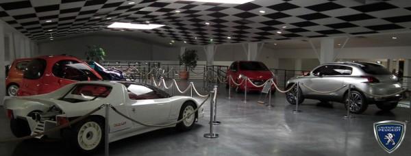Week end concept-cars Peugeot les 12 et 13 mai 2012