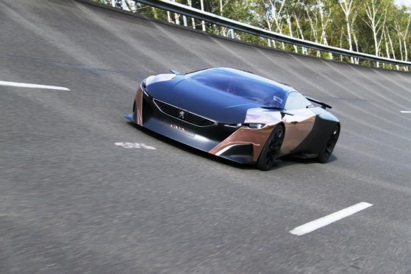 Peugeot Onyx - Roulage Mortefontaine