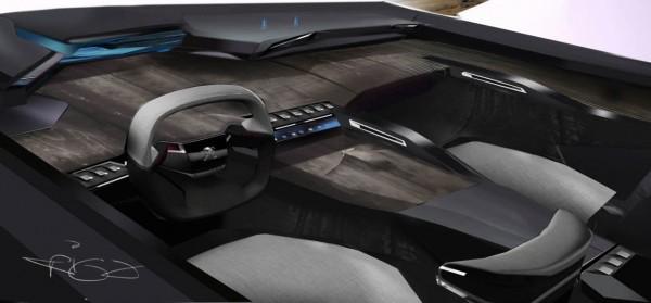 Peugeot EXALT Design