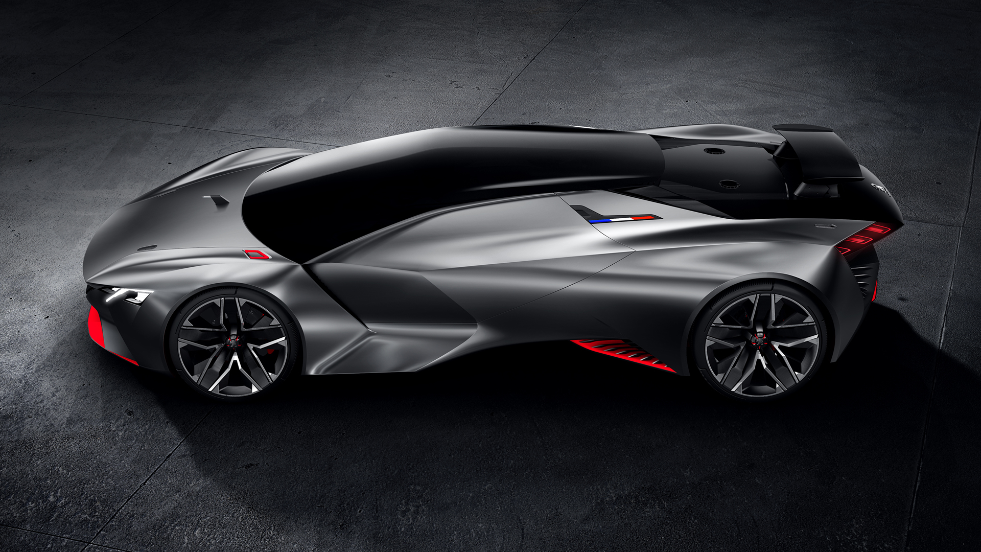 Peugeot Vision Gran Turismo - Les Concept-cars Peugeot