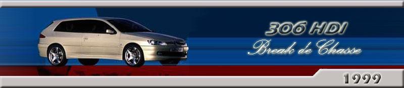 Peugeot 306 HDi Break De Chasse