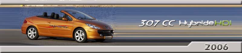Peugeot 307 CC Hybride HDi