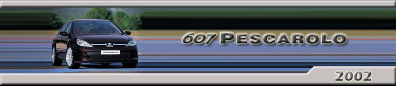 Peugeot 607 Pescarolo