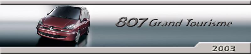 Peugeot 807 GT