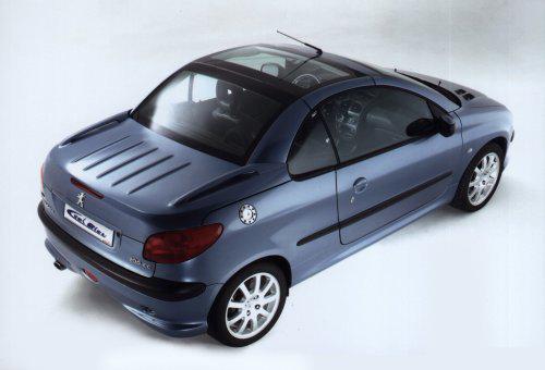 peugeot 206 cc ciel bleu heuliez les concept cars peugeot. Black Bedroom Furniture Sets. Home Design Ideas