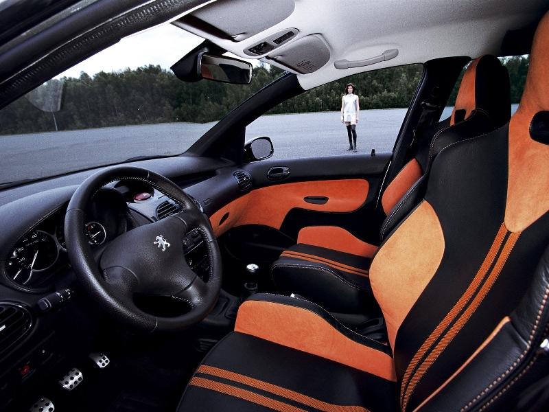 Peugeot 206 sw les concept cars peugeot for Interieur sport golf