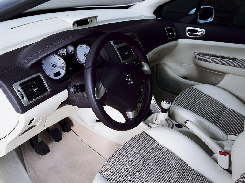 Peugeot 307 sw les concept cars peugeot for Interieur 307 sw