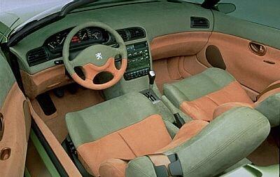 Peugeot 406 toscana les concept cars peugeot for Interieur 406