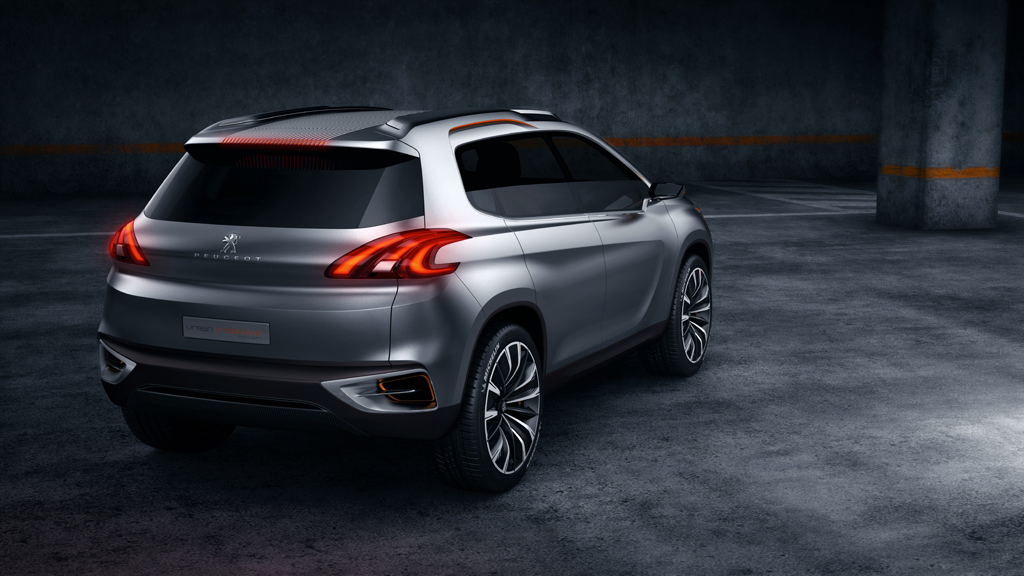 Peugeot Urban Crossover Concept - 2012