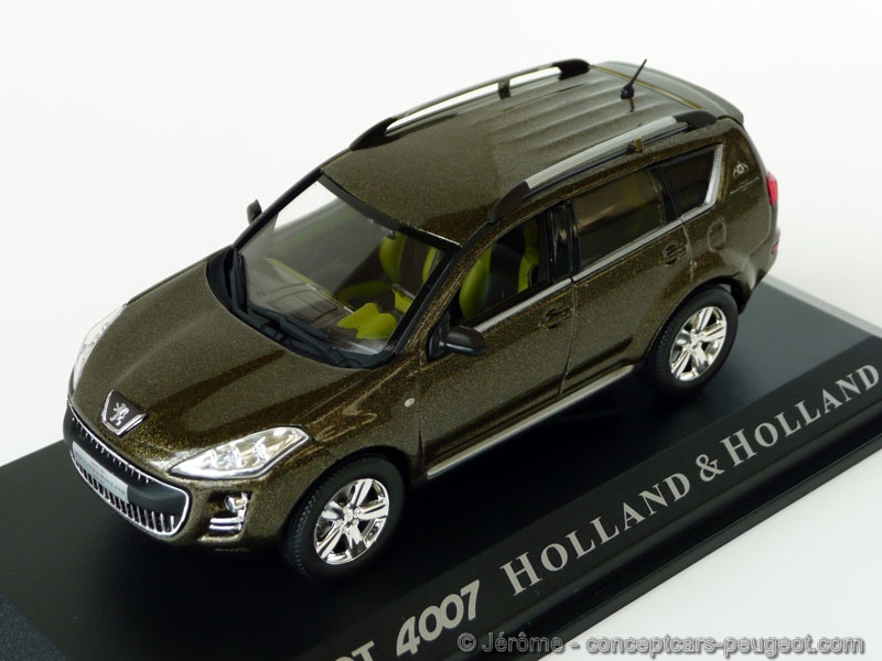 Peugeot 4007 Holland et Holland - Norev 1/43