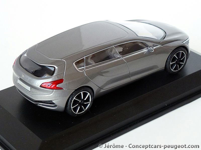 les miniatures des concept car peugeot liste les auto design tech. Black Bedroom Furniture Sets. Home Design Ideas