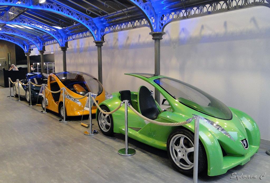 Peugeot City Toyz - Exposition 30 ans de concept-cars