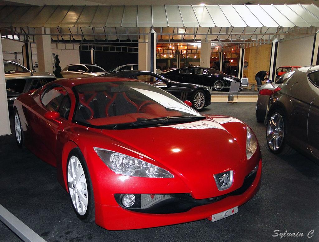 Peugeot RC - Exposition 30 ans de concept-cars