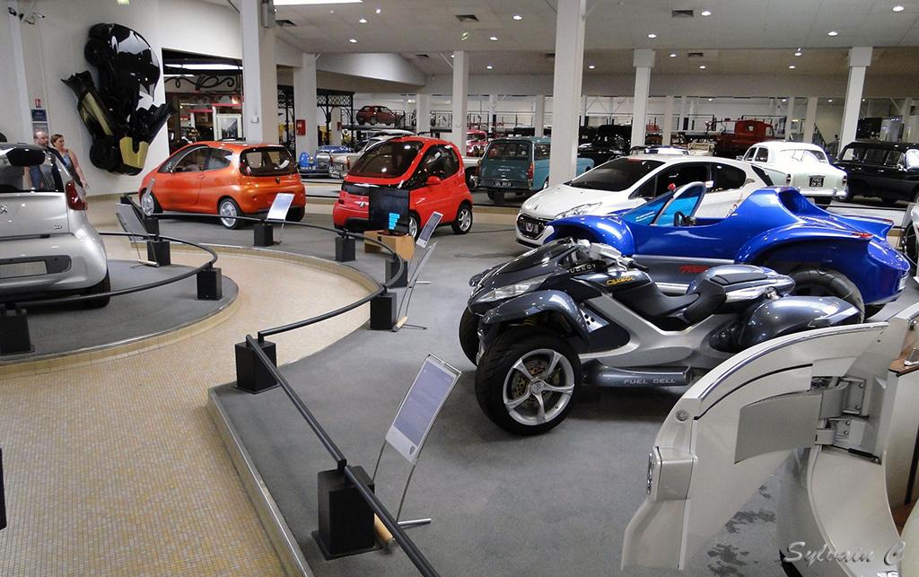 Musée Peugeot - Exposition 30 ans de concept-cars