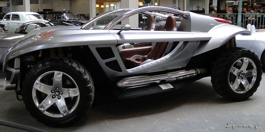 Peugeot Hoggar - Exposition 30 ans de concept-cars