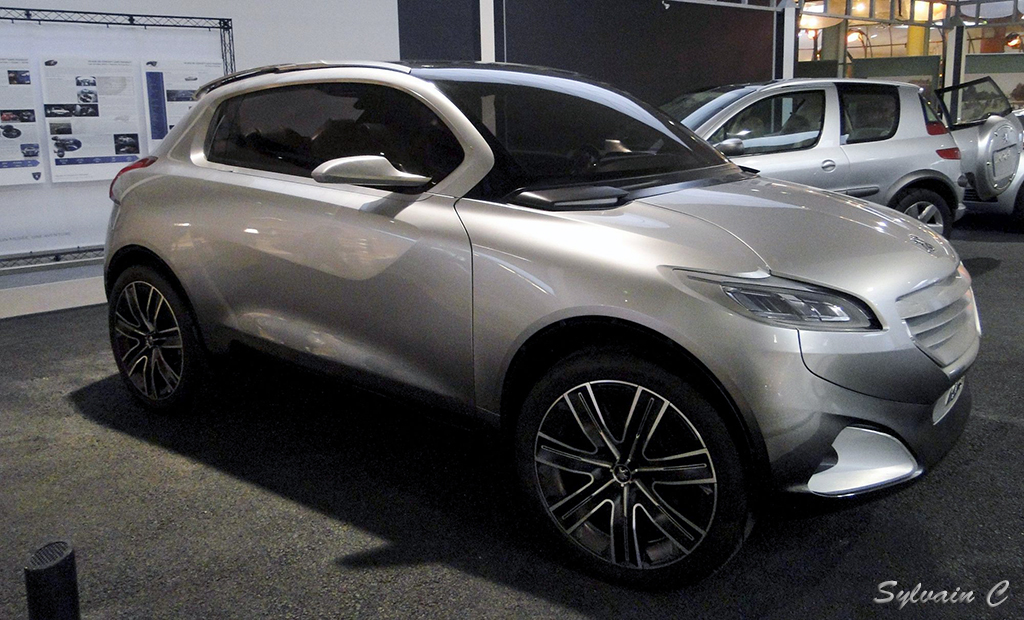 Peugeot HR1 - Exposition 30 ans de concept-cars