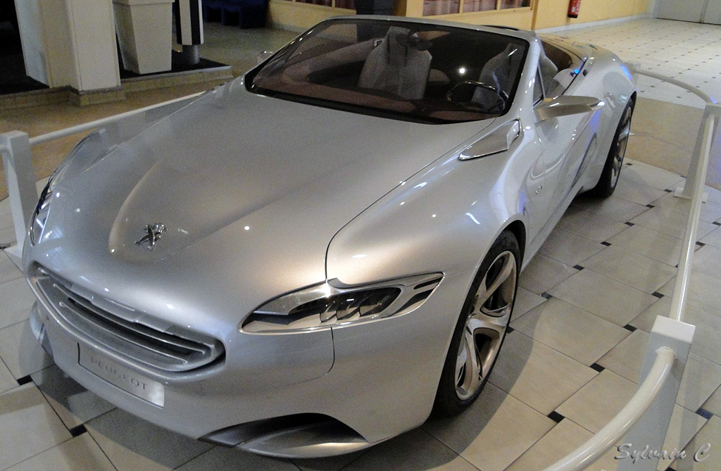 Peugeot SR1 - Exposition 30 ans de concept-cars