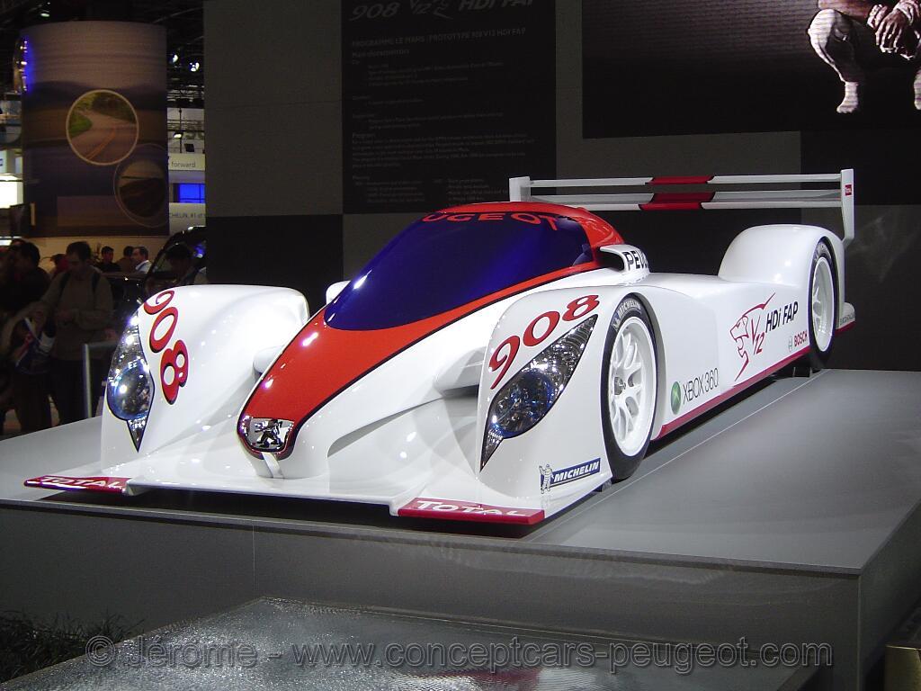 Peugeot 908 - Mondial de l'auto Paris 2006