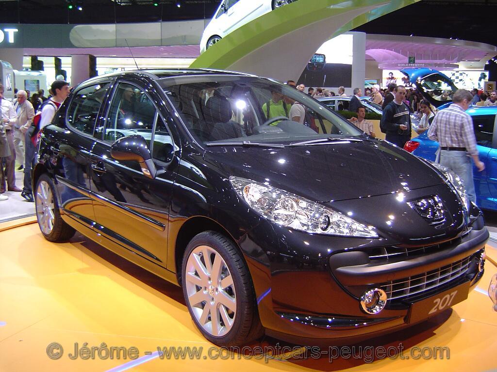 Peugeot 207 Griffe - Mondial de l'auto Paris 2006