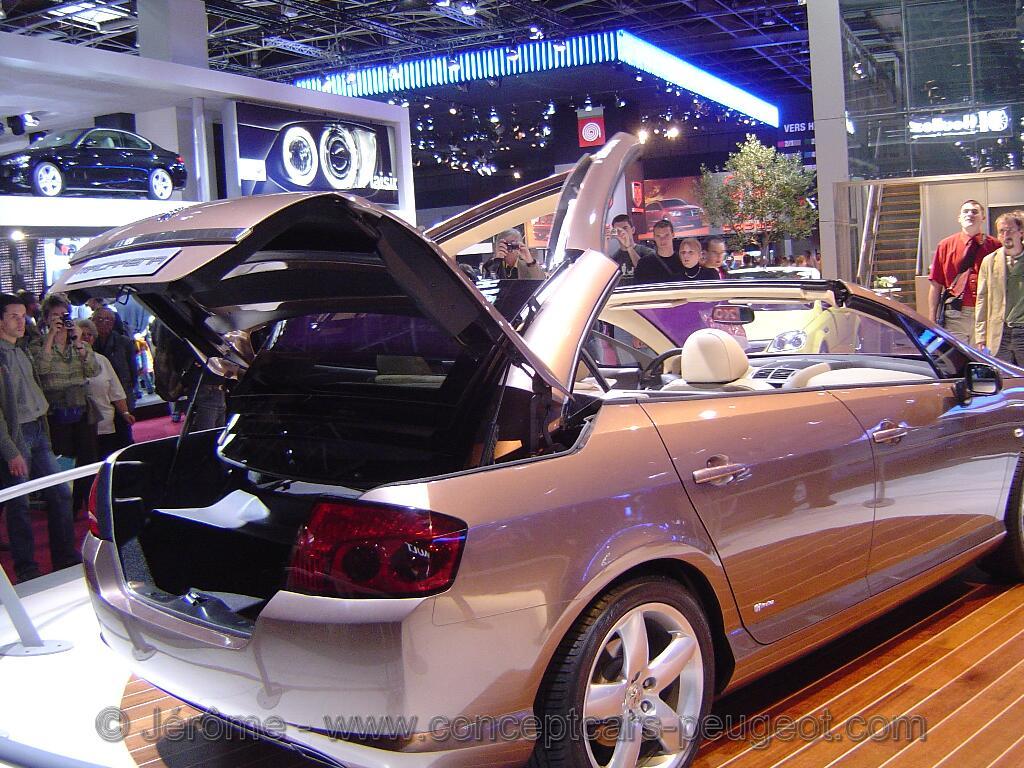 Peugeot 407 Macaréna (Heuliez) - Mondial de l'auto Paris 2006