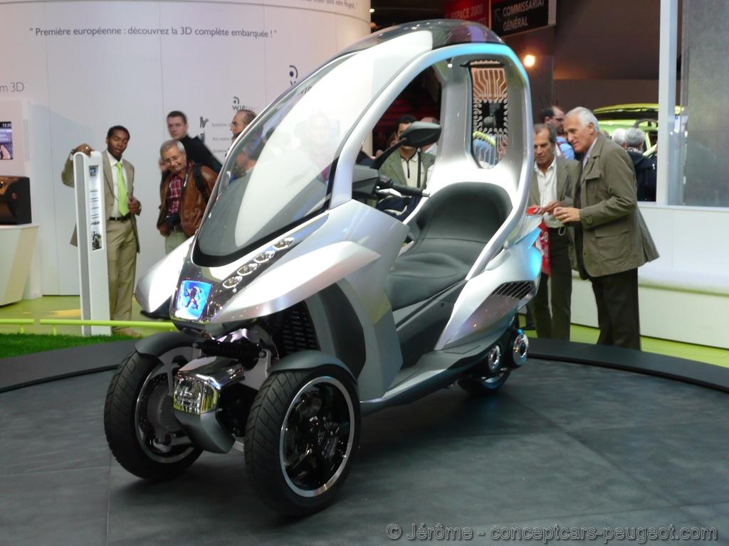 Peugeot HYmotion3 Compressor - Mondial de l'auto 2008 Paris