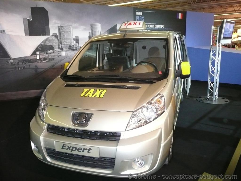 Peugeot Expert - Taxi Multimedia  - Mondial de l'auto 2008 Paris