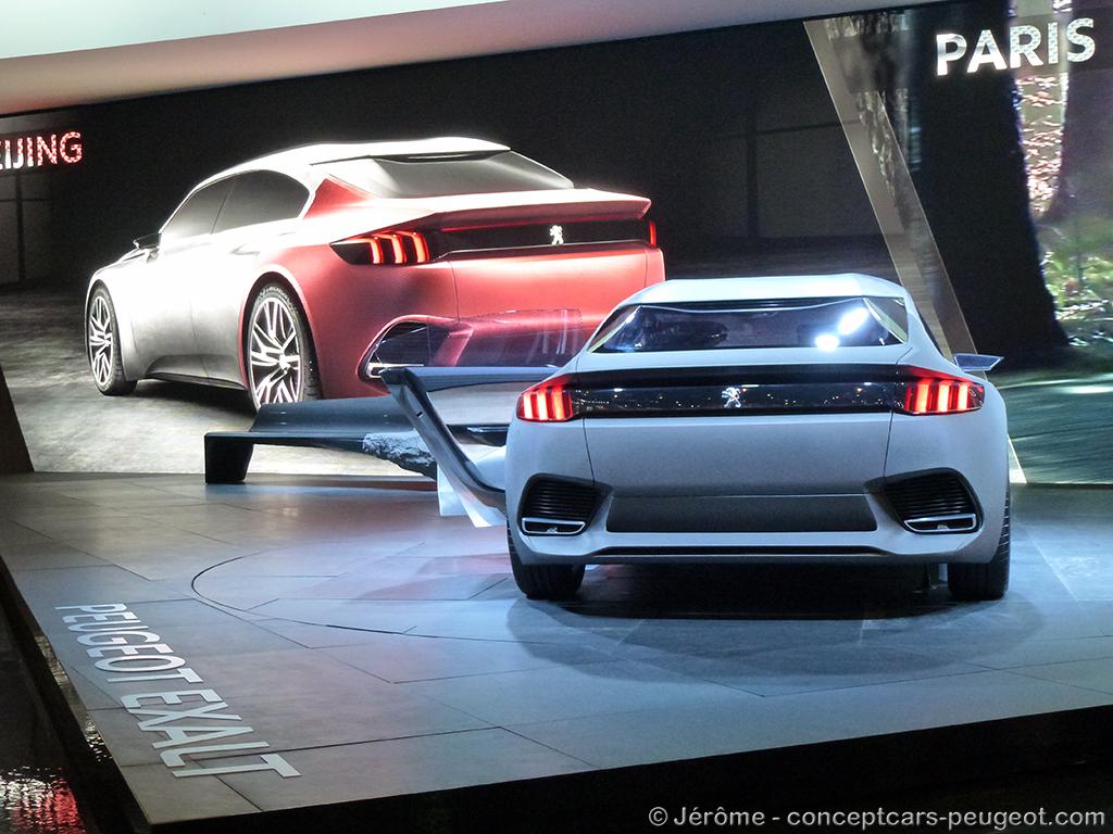 Peugeot EXALT - Mondial de l'auto 2014 – Paris