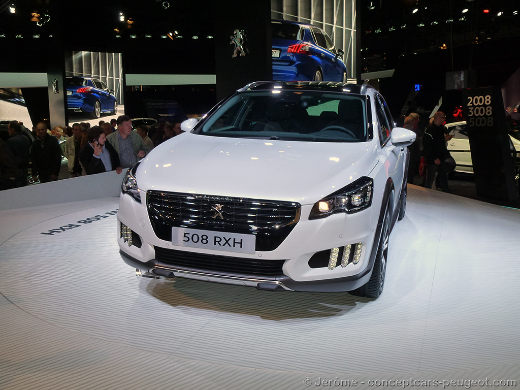 Peugeot 508 RXH - Mondial de l'auto 2014 – Paris