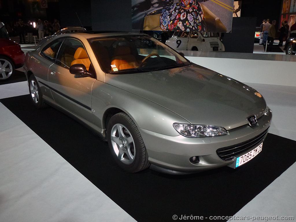 Peugeot 406 Coupé V6 Ultima Edizione - Mondial de l'auto 2014 – Paris